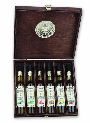 K1620 Wood set with 6 Flavoured Oils (6x100 ml - 6x3.38 fl. oz)